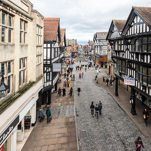 Quarry & Castle Locations - Chester