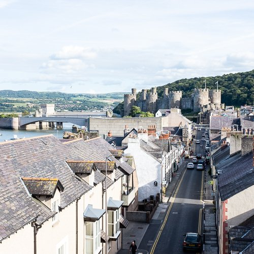 Quarry & Castle Locations - North Wales