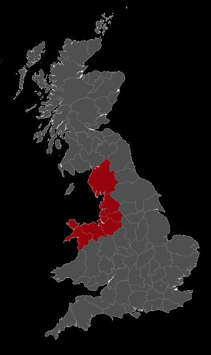 Quarry & Castle - Business Coverage Map